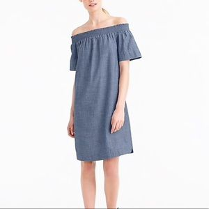 J Crew Chambray Cover Up Dress Size 4